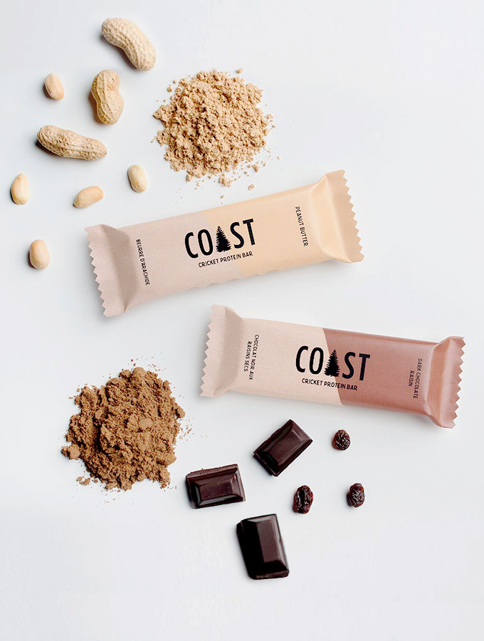 COAST's Supremely Nutritious Cricket Protein Bars